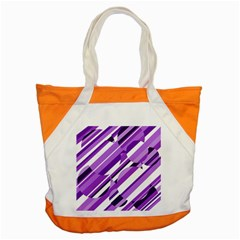 Purple pattern Accent Tote Bag