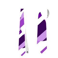 Purple pattern Neckties (One Side)