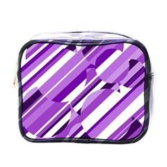 Purple pattern Mini Toiletries Bags