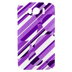 Purple pattern HTC Sensation XL Hardshell Case
