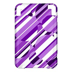 Purple pattern Kindle 3 Keyboard 3G