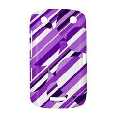 Purple pattern BlackBerry Curve 9380
