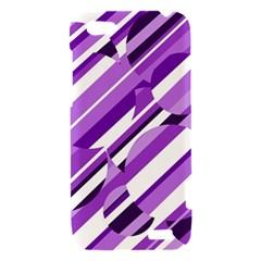 Purple pattern HTC One V Hardshell Case