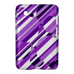 Purple pattern Samsung Galaxy Tab 2 (7 ) P3100 Hardshell Case