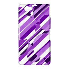 Purple pattern Sony Xperia Z1 Compact