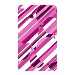Magenta pattern Memory Card Reader
