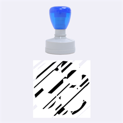 Magenta pattern Rubber Round Stamps (Medium)