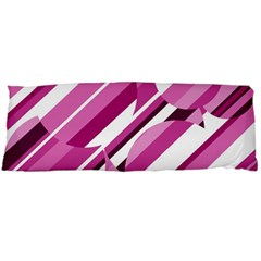Magenta pattern Body Pillow Case Dakimakura (Two Sides)