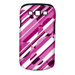 Magenta pattern Samsung Galaxy S III Classic Hardshell Case (PC+Silicone)