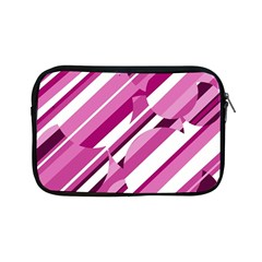 Magenta pattern Apple iPad Mini Zipper Cases