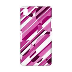 Magenta pattern Sony Xperia Z1