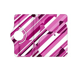 Magenta pattern Kindle Fire HD (2013) Flip 360 Case