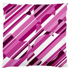 Magenta pattern Standard Flano Cushion Case (Two Sides)