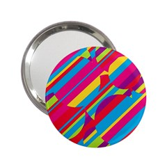 Colorful summer pattern 2.25  Handbag Mirrors