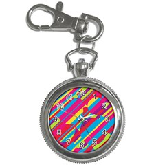 Colorful summer pattern Key Chain Watches