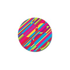 Colorful summer pattern Golf Ball Marker (4 pack)