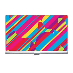 Colorful summer pattern Business Card Holders