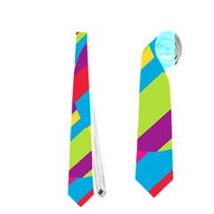 Colorful summer pattern Neckties (Two Side)
