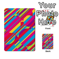 Colorful summer pattern Multi-purpose Cards (Rectangle)