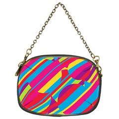 Colorful summer pattern Chain Purses (One Side)
