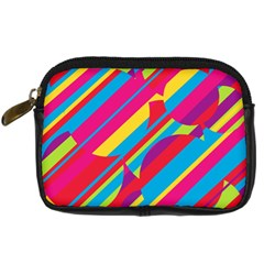 Colorful summer pattern Digital Camera Cases