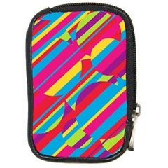 Colorful summer pattern Compact Camera Cases