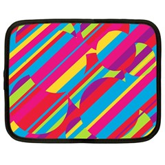 Colorful summer pattern Netbook Case (XL)