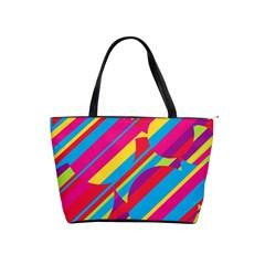 Colorful summer pattern Shoulder Handbags