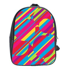 Colorful summer pattern School Bags(Large)