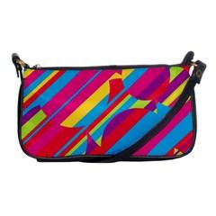 Colorful summer pattern Shoulder Clutch Bags
