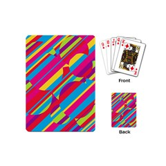 Colorful summer pattern Playing Cards (Mini)