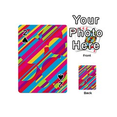Colorful Summer Pattern Playing Cards 54 (mini)