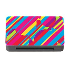 Colorful summer pattern Memory Card Reader with CF