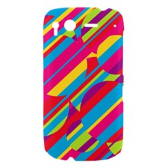 Colorful summer pattern HTC Desire S Hardshell Case