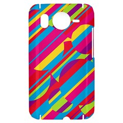 Colorful summer pattern HTC Desire HD Hardshell Case