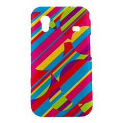 Colorful summer pattern Samsung Galaxy Ace S5830 Hardshell Case