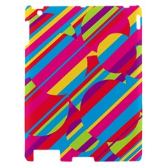 Colorful summer pattern Apple iPad 2 Hardshell Case