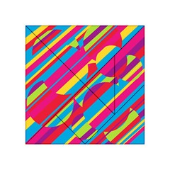 Colorful summer pattern Acrylic Tangram Puzzle (4  x 4 )