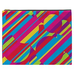Colorful summer pattern Cosmetic Bag (XXXL)
