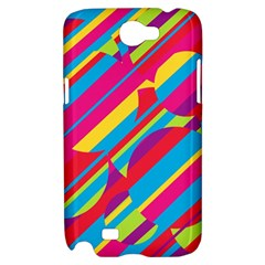 Colorful summer pattern Samsung Galaxy Note 2 Hardshell Case