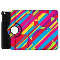 Colorful summer pattern Apple iPad Mini Flip 360 Case