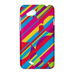 Colorful summer pattern HTC Desire VC (T328D) Hardshell Case