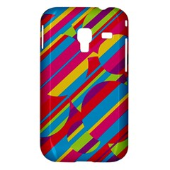 Colorful summer pattern Samsung Galaxy Ace Plus S7500 Hardshell Case