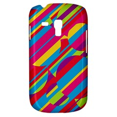 Colorful summer pattern Samsung Galaxy S3 MINI I8190 Hardshell Case