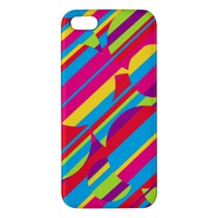 Colorful summer pattern Apple iPhone 5 Premium Hardshell Case