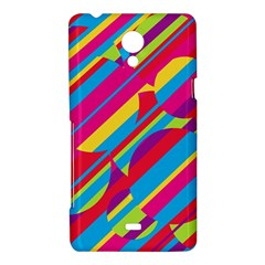 Colorful summer pattern Sony Xperia T