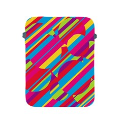 Colorful summer pattern Apple iPad 2/3/4 Protective Soft Cases