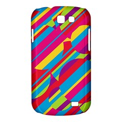 Colorful summer pattern Samsung Galaxy Express I8730 Hardshell Case