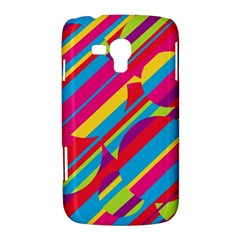 Colorful summer pattern Samsung Galaxy Duos I8262 Hardshell Case