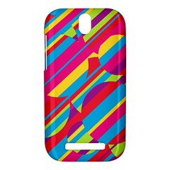 Colorful summer pattern HTC One SV Hardshell Case